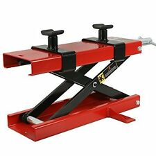 Zeny 1100 LB Wide Deck Motorcycle Center Scissor Lift Jack Hoist Stand Bikes