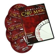 Complete Card Magic - 4 DVD Set - Learn Over 120 Effects With These Amazing DVDS