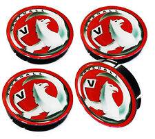 4 x 60mm Vauxhall Opel Wheel Center Caps Car Hub 3D Resin Tuning Emblem Red A 69