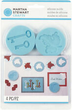 Martha Stewart Crafts Silicone Molds Antique Elements Set Crafter's Clay Moulds