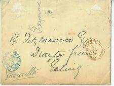 1891 Signed Envelope Lord George Francis Hamilton with Admiralty Cancellation