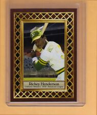 Rickey Henderson 1979 Oakland A's / Jersey City, Fan Club serial numbered /300
