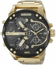 Diesel DZ7333 Men's Mr.Daddy 2.0 Gold Chronograph Stainless Steel Analog Watch