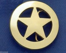 Ranger Star Belt Buckle (Brass)