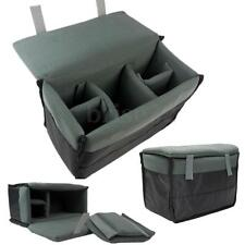 Insert Padded Camera Bag for DSLR Folding Divider Partition Protect Case Black