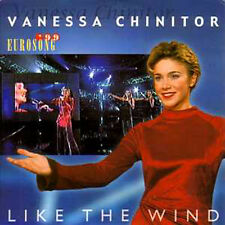 CD SINGLE EUROVISION 1999 Belgique : Vanessa CHINITOR Like the wind 2-track