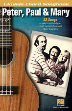 Peter Paul & Mary Ukulele Chord Songbook Sheet Music Ukulele Chord Son 000121822