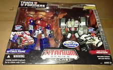 Transformers Titanium Series War Within Optimus Prime vs Megatron New Sealed Box