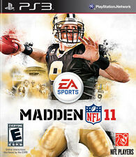 Madden NFL 11 PS3 Great Condition Complete Fast Shipping
