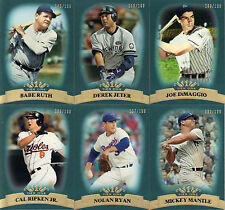 """2011 """"TOPPS""""   TIER ONE BLUE   COMPLETE SET  1-100"""