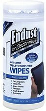 Endust FE Anti-Static Wipes Cleaner PC Computer Tablet LCD Touch Screen Ereader