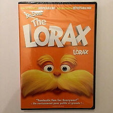 Dr Seuss THE LORAX (DVD,NEW) Taylor SWIFT!Zac Efron,DeVito,Betty White FreeSHIP!