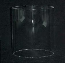 Cylinder Tube Glass Light Lamp Shade 6 X 7 in Candle Holder Barber Pole New