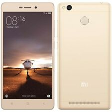 New Xiaomi India Warranty Xiaomi Redmi 3S Prime Duos Dual 32GB 3GB 13MP 5MP Gold