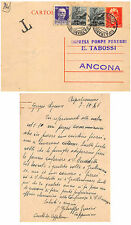 C613) INTERO LUOGOTENENZA 60c ARANCIO + DUE 1l DEMOCRATICA + 50c IMP. VG 7/10/46