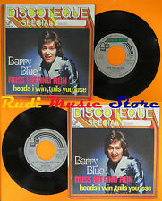 LP 45 7'' BARRY BLUE Miss hit and run Heads i win tails you 1974 italy cd mc dvd