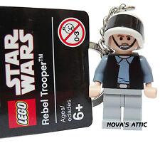 STAR WARS LEGO REBEL TROOPER PORTE-CLÉS NOUVEAU