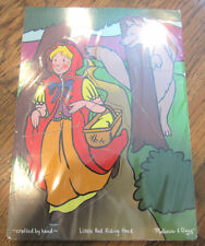 Melissa & Doug Jigsaw Puzzle Little Red Riding Hood And Wolf Fairy Tale Story