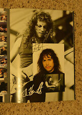 Metallica Wherever Roam signed 5 times concert!! in person CAR PASS Monster Rock