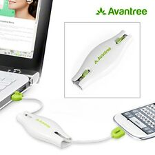 MICRO USB 2.0 RETRACTABLE AVANTREE VIVA CHARGEUR DATA SYNCHRONISATION SAMSUNG