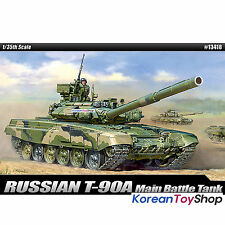 Academy 13418 1/35 Plastic Model kit Russian Ground Forces T-90A KoreanToyShop
