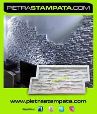 CONCRETE MOLD STONE WALL VENEER RUBBER MOLD Concrete STAMP facing Plaster,