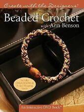 Create with Me: Beaded Crochet by Ann Benson (2006) BOOK AND DVD