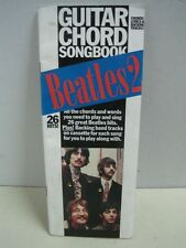 Antique guitar chord song book Beatles 2 all the chords and words 26 great hits