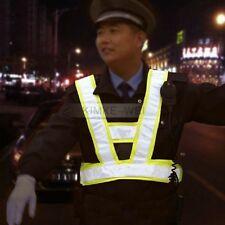 Sicherheitsweste Warnweste Reitweste mit reflektierenden Leuchtstreifen Grün