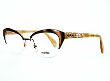 MIU MIU (by PRADA) versione/GLASSES vmu50l 52 [] 17 lae-1o1 140 #116 (5)