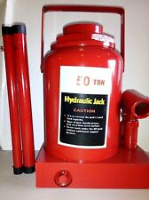 Tooluxe 50-Ton Heavy Duty Hydraulic Bottle Jack NEW Free Shipping