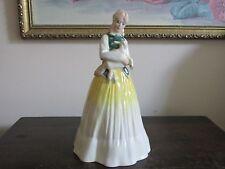 Vintage Royal Doulton England Porcelain Figurine HN 3033 Springtime