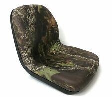 Camo HIGH BACK Seat for John Deere Gator Model E-Gator CS CX 4x4 Trail HPX TE