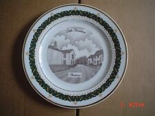 The Canterbury Collection Collectors Plate LITTLE DUNHAM - STREET VIEW