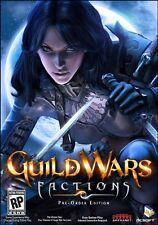 Guild Wars Factions Pre-Order Edition PC RPG NEW NTSC-U/C (US/Canada),