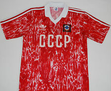 1989-1991 Rusia Cccp Urss Adidas Home Football Shirt (talla M)