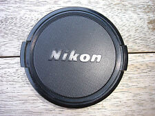 Genuine NIKON 62mm front lens cap