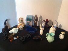 Vtg Perfume Bottles Lot Of 16, Avon, Aftershave, Salt Shaker, President Lincoln