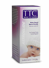 Astroglide TTC Sperm Friendly Pre-Seed Water Based Lubricant 1.4 oz