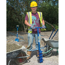 DRAPER 82846 950 x 100mm Recinzione di acciaio POST Buco Trivella / Drill / Scavare NUOVO