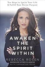 Awaken the Spirit Within by Rebecca Rosen ~ SIGNED ~ NEW