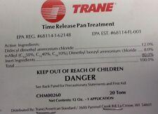TRANE CHM00260 CHEMICAL; T.R. BIO-KLEAN SIZE 12X3X5/8, USE ON 20 TON UNITS