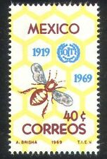 Mexico 1969 Bee/Insects/ILO 50th Anniv./Workers/Honeycomb/Animation 1v (n24972)