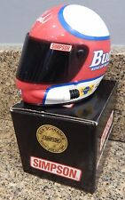 Simpson Ken Schrader Bud King of Beers Signature Edition 1/4 Scale Mini Helmet