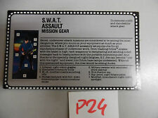 P24 gi joe usa  us filecard fc swat assault mission gear