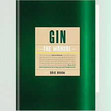Gin:The Manual  Spirits & Cocktails Book By Dave Broom NEW Hardback9781845339388