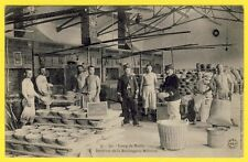 cpa CAMP de MAILLY (Aube) La BOULANGERIE MILITAIRE 1904 Fabrication du PAIN FOUR
