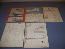 VINTAGE..PETE BOWERS FLY BABY AIRPLANE..4-VIEWS/SPECS/PHOTOS...RARE! (167)