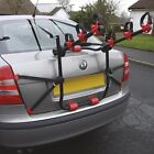 Car & 4x4 Body Boot Mount Fitment 45kg 3 Bike Bicycle Travel Rack Carrier - #C1