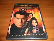 Tomorrow Never Dies (DVD, 1999) Pierce Brosnan Used 007 James Bond